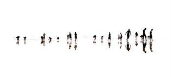 plage5-Tirage argentique sous Diasec. Dimension : 40x90 cm