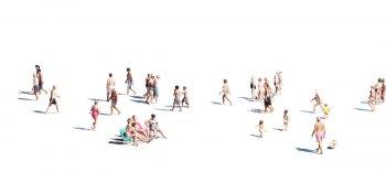 playa31-Tirage argentique sous Diasec. Dimension : 40x90 cm