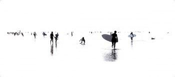 playa35-Tirage argentique sous Diasec. Dimension : 40x90 cm