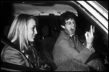Mike Jagger et Jerry Hall 004